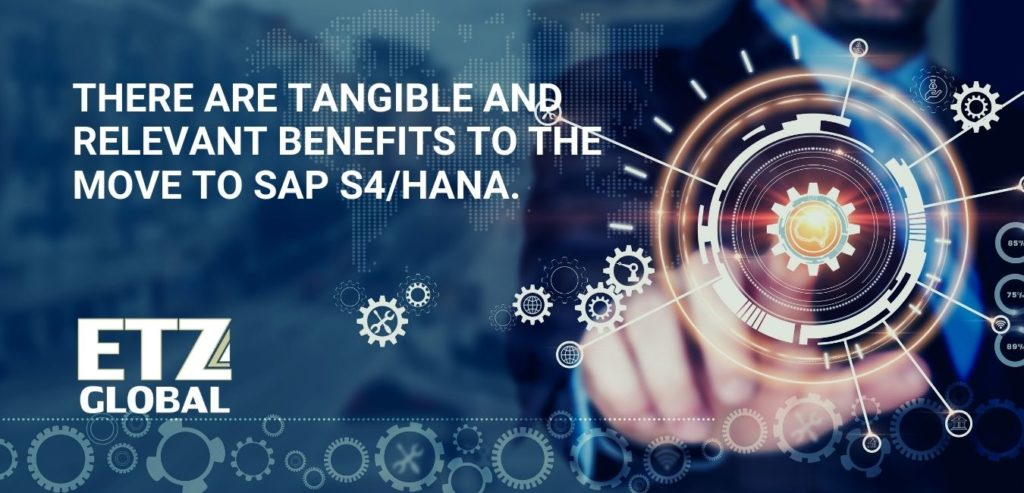Five reasons why companies should be considering the transition to SAP S4/HANA